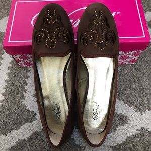 Wanted Women's Shire Faux Suede Flats💞